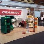 Выставка в Латвии и стенд GRANDEG