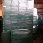 Общая мощность пеллетных котлов 7,5 мВт