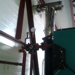 Установлен трехходовой кран